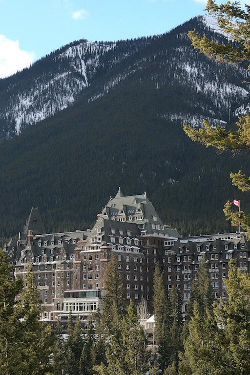 Banff Springs classic view